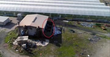 VİDEO HABER – Drone ile kaçak trafo operasyonu