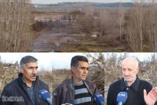 VİDEO HABER – Dicle Nehri'nde binlerce meyve ağacı zarar gördü