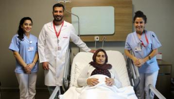 Kapalı ameliyatla dış gebelikten kurtuldu