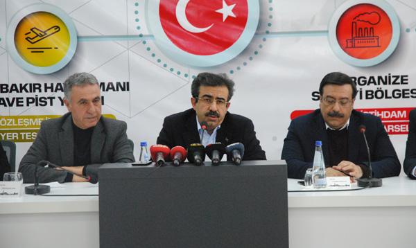 Diyarbakır'a 160 Milyon TL'lik altyapı yatırımı