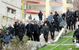 HDP'lilerin yürüyüşüne müdahale