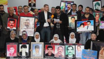 Kayıp yakınları: Hakikatleri Araştırma Komisyonları kurulsun
