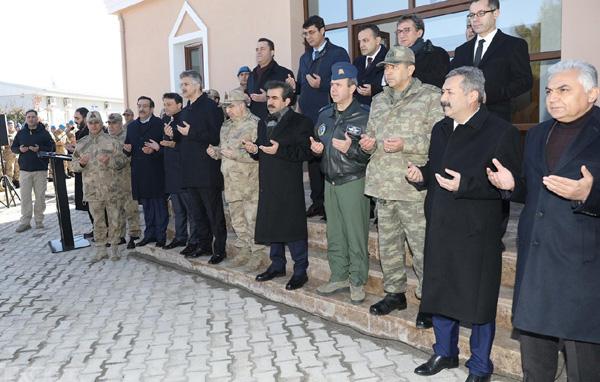 Jandarma Mescidi ibadete açıldı