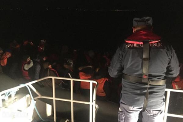 Bir haftada 500 düzensiz göçmen yakalandı