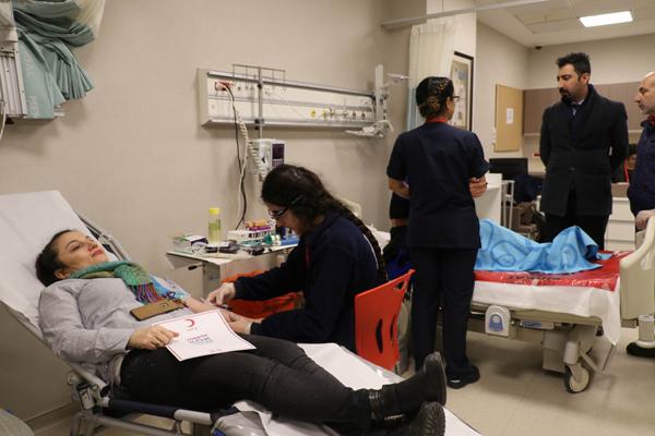 Kan bağışı oranı düştü, hastane çalışanları seferber oldu