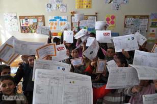 18 milyon öğrenci karne heyecanı yaşayacak