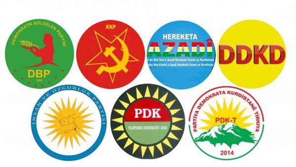 Kürt partileri ortak deklarasyon yayınlayacak