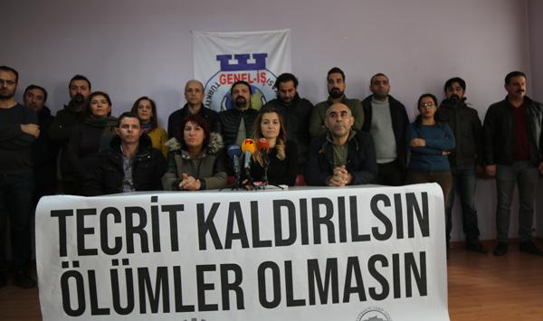 Cezaevlerindeki taleplerin yerine getirilmesini isteyen Diyarbakır Emek ve Demokrasi Platformu: Tutukluların durumu kritik