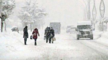 Meteoroloji 10 ili uyardı: Kar geliyor dikkat!