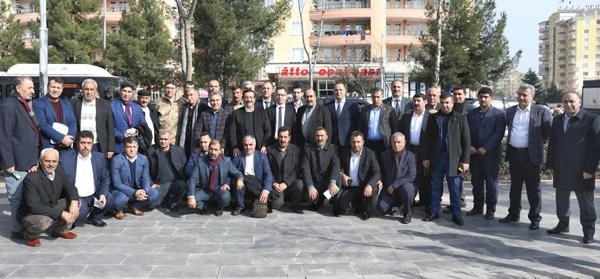 Diyarbakır'da muhtarlarla istişare toplantısı düzenledi