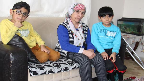 Video Haber: 5 çocuğuyla birlikte yardım eli bekliyor