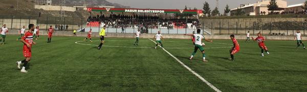 Pasur Belediyespor, Ergani Gençlerbirliğispor'u 4-0 yendi