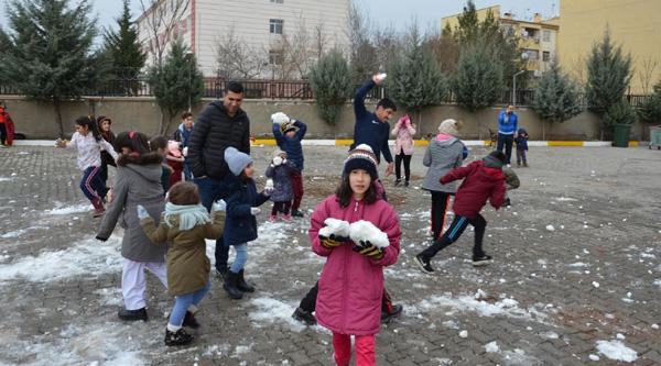 Diyarbakırlı sporculara kar sürprizi