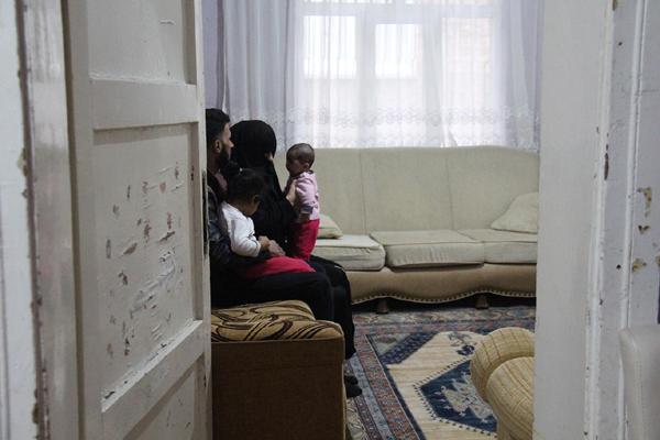 video Haber:Suriyeli aile yardım eli bekliyor