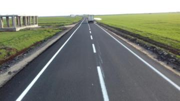 Eski Derik Yolu asfaltlandı