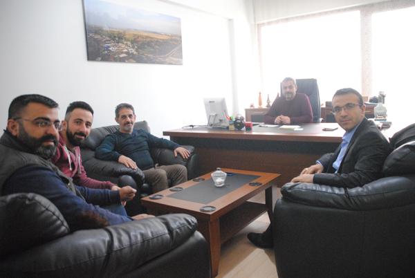 BİK Mardin Şube Müdürü Günbegi'nden gazetemize ziyaret