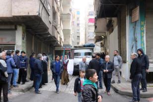 Diyarbakır'da yıkılma tehlikesi olan bina boşaltılıyor