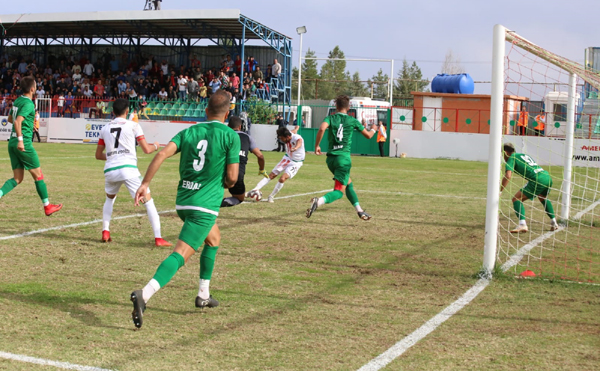 Diyar eli boş döndü: 2-1