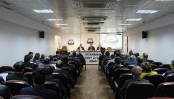 DTSO Meclisi'nde bağımlılıkla mücadele konusu ele alındı