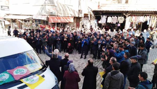 HDP, Çermik'te adaylarını tanıttı