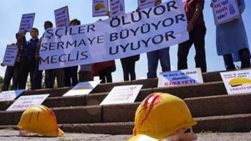 Temmuz ayında 164 işçi öldü!