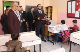 Görme engelli öğrencilere dijital Kur'an-ı Kerim dağıtıldı