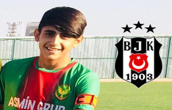 Amedspor'dan Beşiktaş'a transfer