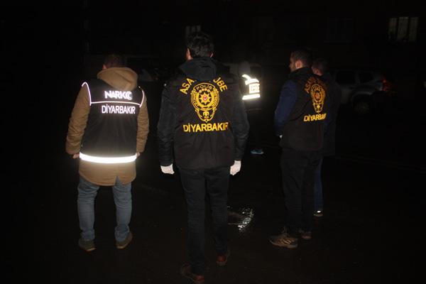 Diyarbakır'da 2 ayda 178 operasyon gerçekleştirildi