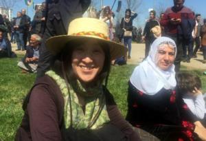 Diyarbakır Nevrozu'nda bir Japon kadın: Aki Takehara