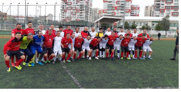 Diyarbakır'da dostluk maçı yapıldı