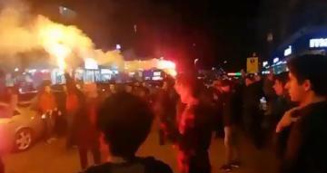 Amedspor taraftarı PFDK'yi protesto etti