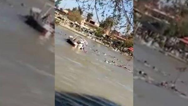Dicle'de tekne battı: En az 100 kişi hayatını kaybetti