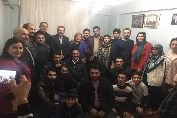 Gezer'in ev ziyaretleri devam ediyor