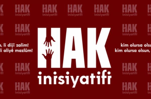 Açlık grevlerinin sonlandırılması için Hak İnisiyatifi'nden çağrı: Diyalog kapıları açılsın