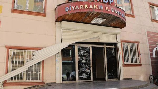 HDP il binasına baskın: 3 Gözaltı