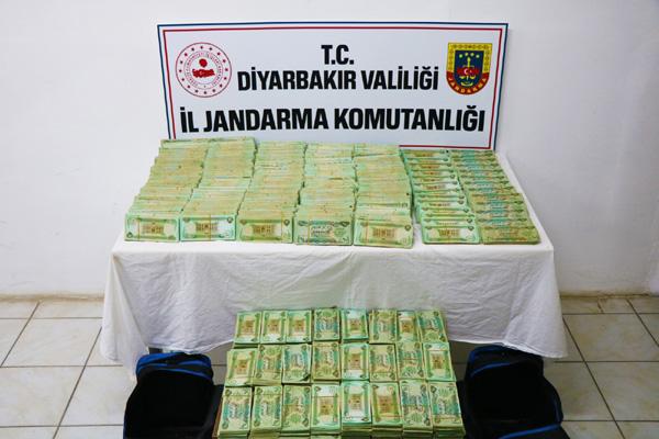 1 milyon Irak dinarı ele geçirildi