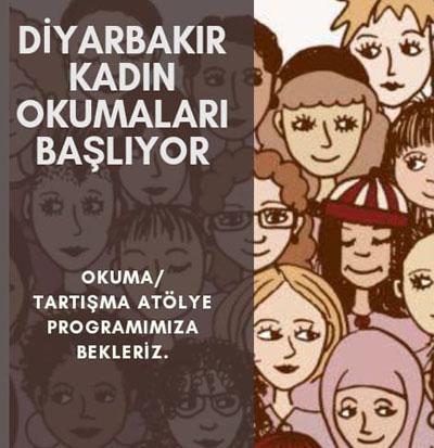 Diyarbakır'da kadın odaklı okuma etkinliği başlıyor