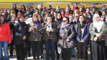 Diyarbakır'da kadınlar 8 Mart'ın startını verdi