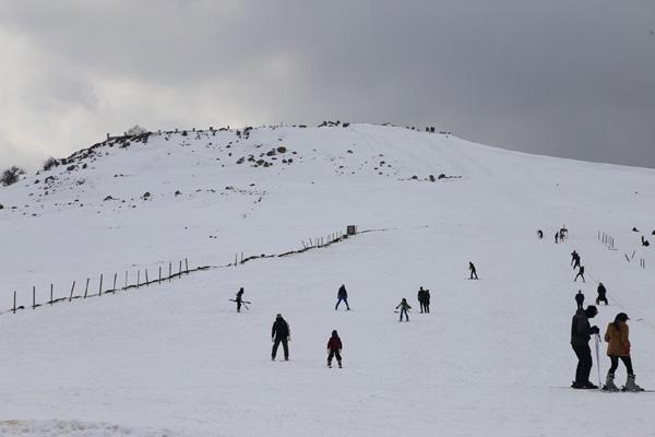 Video Haber: Bölgenin tek kayak merkezi ilgi bekliyor