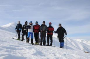 2 bin 500 rakımlı Akdağ'da ilk kayak