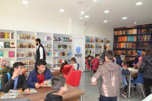 VİDEO HABER: 'Okuyan Nesiller Kitap Kafe' açılışı yapıldı