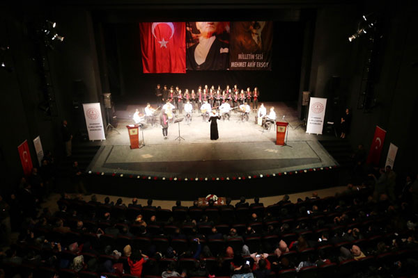 VİDEO HABER: Mehmet Akif Ersoy Diyarbakır'da anıldı