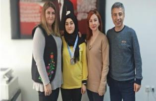Diyarbakırlı Nazlıcan'dan Türkiye ikinciliği