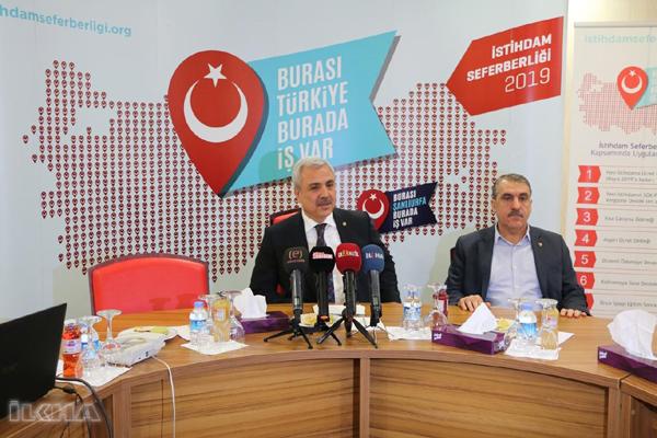 VİDEO HABER: Şanlıurfa'da istihdam seferberliği başlatıldı