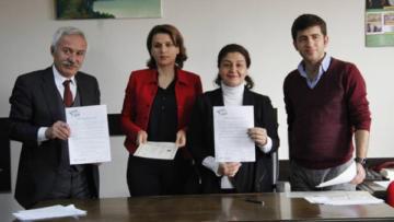 HDP'nin Diyarbakır adayları 'şeffaflık' protokolünü imzaladı