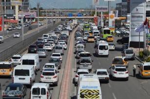 Trafikteki araç sayısı 23 milyon'u aştı