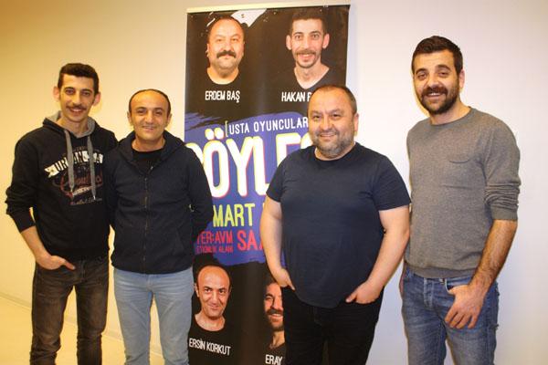 Usta oyuncular Diyarbakır'da sevenleriyle buluştu