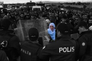 Video Haber: Cezaevi önünde açıklamaya izin verilmedi