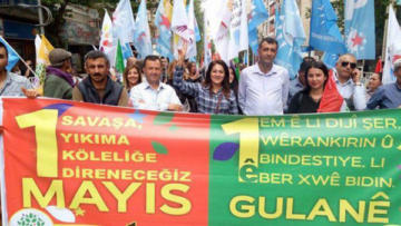 Diyarbakır'da 1 Mayıs hazırlıkları tamamlandı