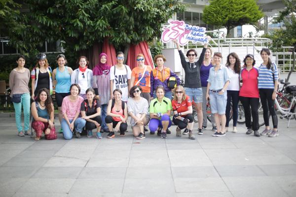 Bisikletli kadınlar Diyarbakır'da buluşuyor!